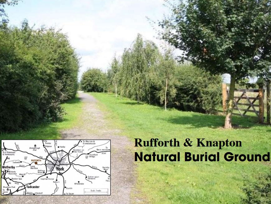 The Green Burial Ground, Southfield Lane, Rufforth