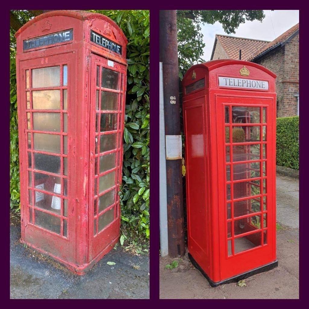 Rufforth Telephone Box