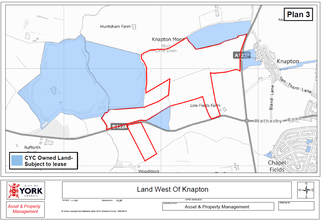Land West of Knapton Plan