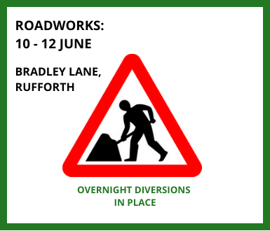 Roadworks 10 12 June Diversions In Place (1)