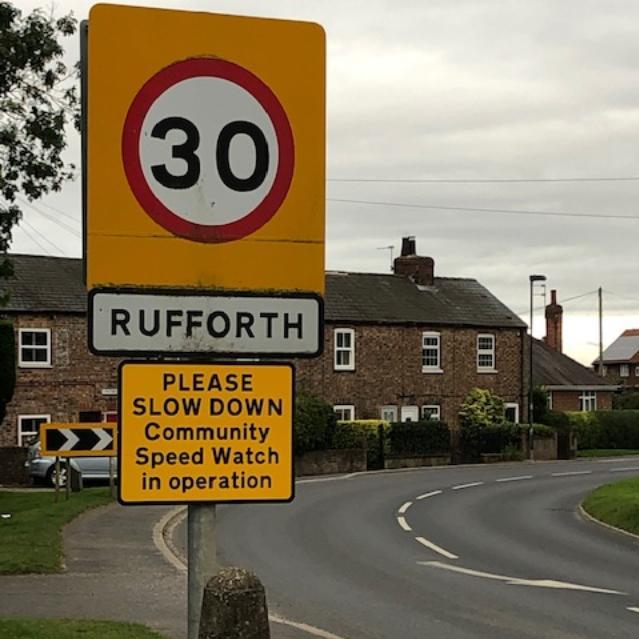 Community Speed Watch In Rufforth